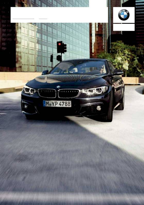 2019 BMW 4 Series Gran Coupe – Owner's Manual – 314 Pages – PDF