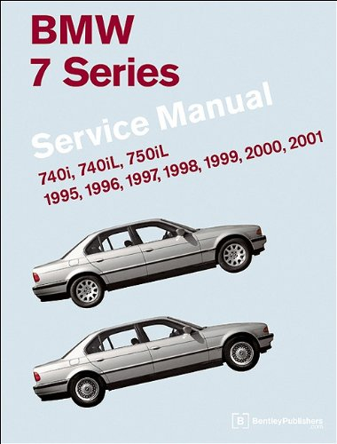 9780837616186 BMW 7 Series E38 Service Manual 1995