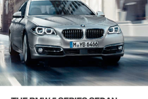 BMW 5 SERIES 2015 F10 Owner's Manual (277 Pages)