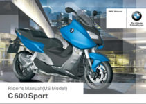 BMW C 600 Sport 2014 Owner's Manual – PDF Download
