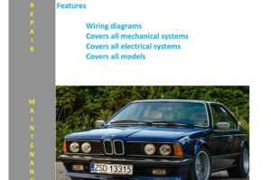 BMW 6 Series - E24 - 633 Csi 635csi From 1976 - 1989 Service ...