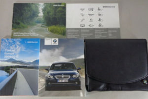 Owner s Manual Wallet BMW 5 Series E60 E61 Saloon