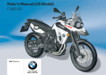 BMW F 800 GS 4th 2010 Owner's Manual – PDF Download