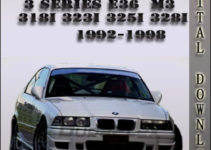 1998 Bmw M3 Owners Manual Pdf Dobraemerytura