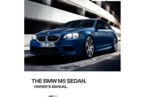 Download 2015 BMW M5 Sedan Owner s Manual OwnerManual
