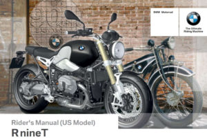 BMW R Nine T 2015 Owner's Manual – PDF Download
