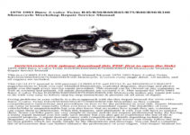BMW R65 Owners Manual Volkswagen Owners Manual