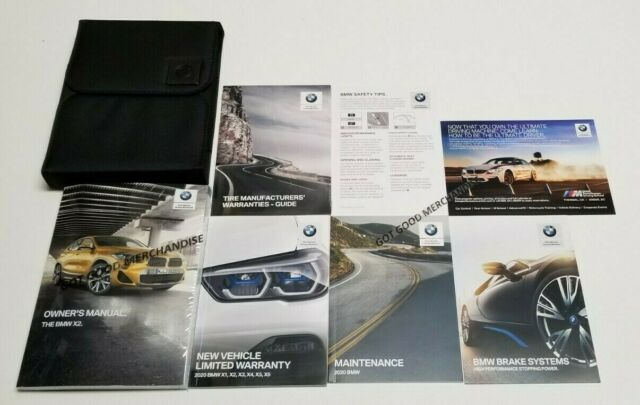 2020 BMW X2 OWNERS MANUAL SDRIVE 20i 18i M35i EXECUTICE