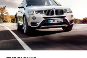 BMW X3 2015 F25 Owner's Manual (257 Pages)